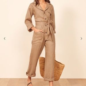 NWT-Reformation Cade Jumpsuit